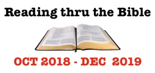 Reading thru Bible